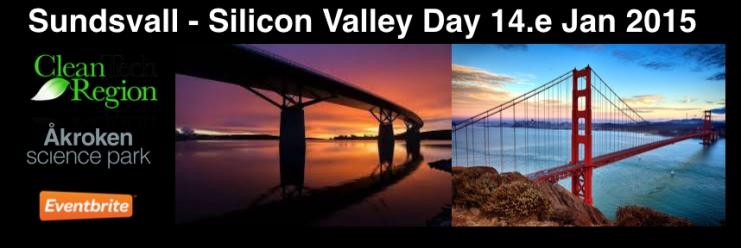 Sundsvall Silicon Valley day logo